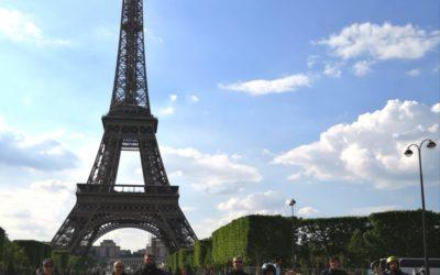 Parigi in Vespa…