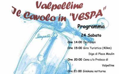 """Raduno Il Cavolo in """"Vespa"""" 24 e 25 Agosto 2019"""